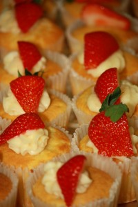 Dessert Catering - cupcakes in a variety of flavors